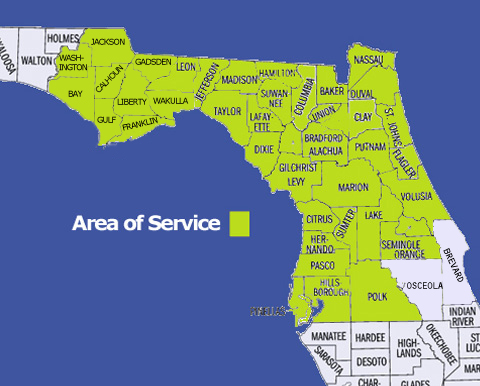 florida map ocala area